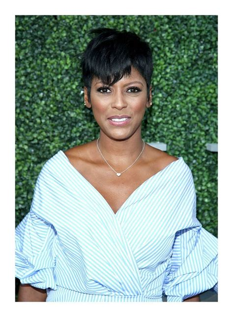 tamron hall haircut today tamron hall loves her short hair despite getting the