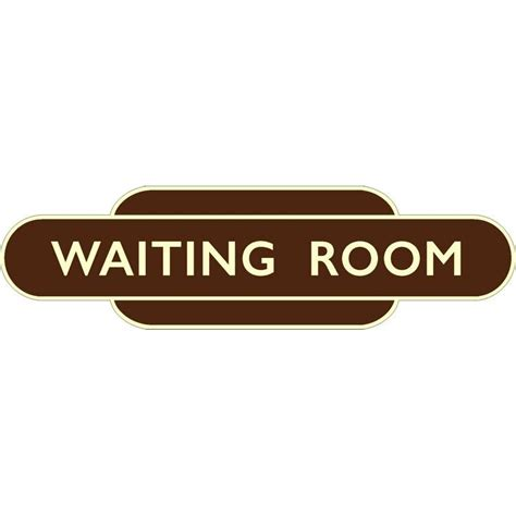 waiting room signs speciality signs