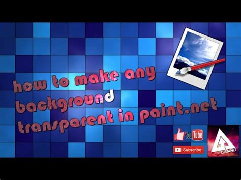 paint net make background transparent how to make a background transparent in paint net