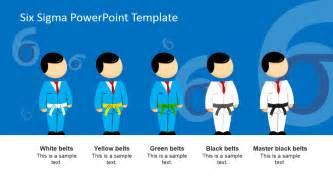 six sigma templates six sigma belts powerpoint template slidemodel
