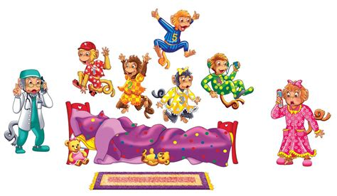 5 monkeys jumping on the bed five monkeys jumping on the bed little folk visuals
