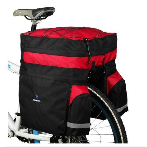 L Best Price New 3in1 Organizer 301 Tempat Penyimpanan Pakai roswheel bicycle carrier bag 60l rear rack trunk bike