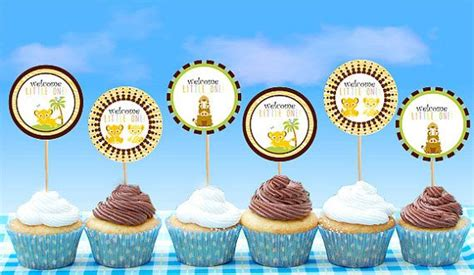 King Baby Shower Cupcakes by King Baby Shower Cupcake Toppers