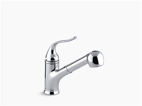 kohler coralais 174 single or three hole with pullout spray k 15160 coralais pullout spray kitchen sink faucet kohler