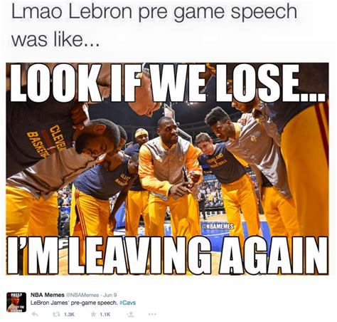 Nba Finals Meme - the cavs are finished