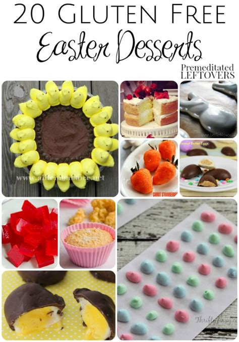 20 gluten free easter dessert recipes