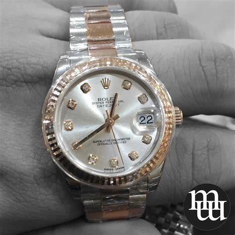 Jam Rolex Moon jual jam tangan rolex datejust medium size gold steel