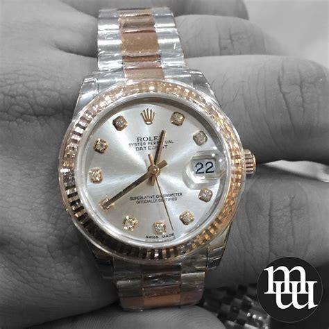 Jam Tangan Golden Moon jual jam tangan rolex datejust medium size gold steel
