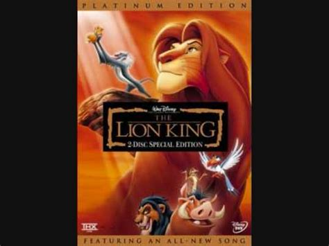 theme song lion king stede lion king theme youtube
