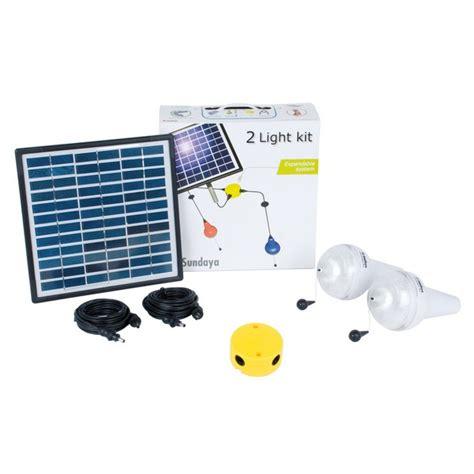 kit clairage solaire 2 les ulitium 200 sur