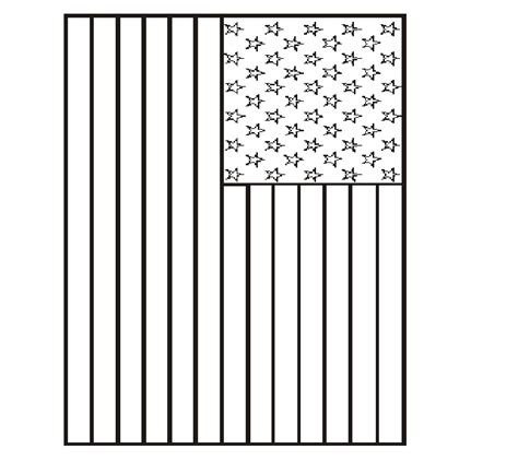 american flag printable coloring page nuttin but preschool