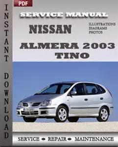 nissan almera 2003 tino free download pdf repair service