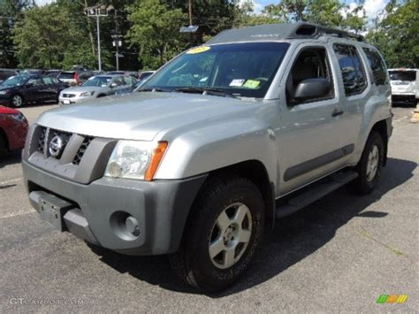 2005 silver lightning metallic nissan xterra s 4x4 69351668 gtcarlot car color galleries