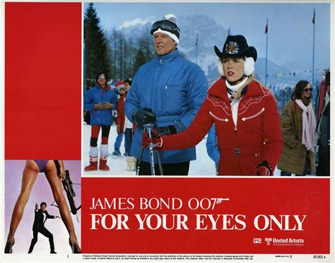 film james bond for your eyes only for your eyes only lobby cards 01