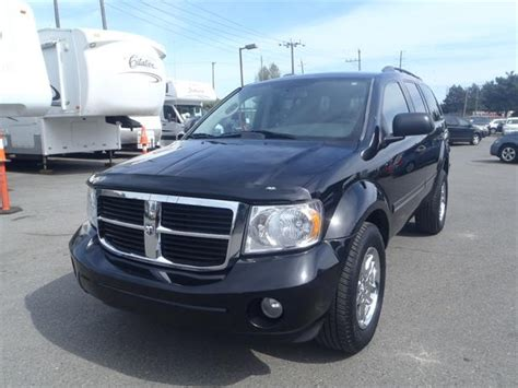 dodge durango third row seat 2008 dodge durango slt 3rd row seating 4wd outside calgary