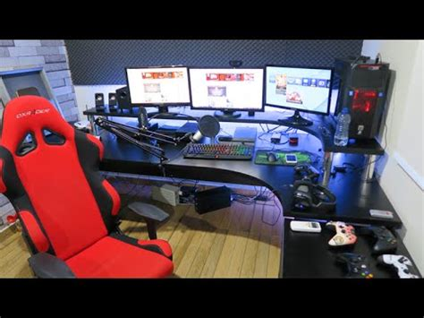 How To Make A Gaming Setup meu setup gamer 2016 atualizado youtube