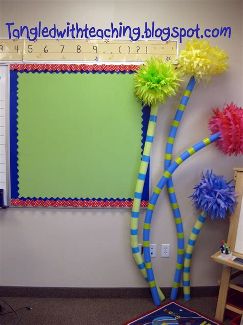 Dr Seuss Classroom Decorations by Tangled With Teaching Dr Seuss Classroom Theme Day 3