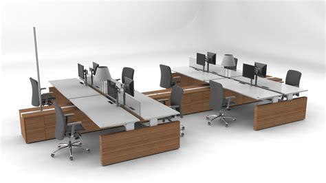 Modular Office Desk Systems Office Furniture By Roel Verhagen Kaptein At Coroflot