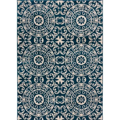 moroccan rugs sydney well woven sydney palatial moroccan tile navy blue 7 ft 10 in x 10 ft 6 in modern area