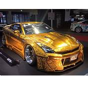 Gold Engraved Nissan GT R By Kuhl Racing  Supercar Report