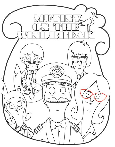 bob s burgers coloring book books how to draw bobs burger