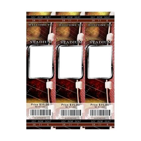 football ticket template 5 digital scrapbooking football templates great resources