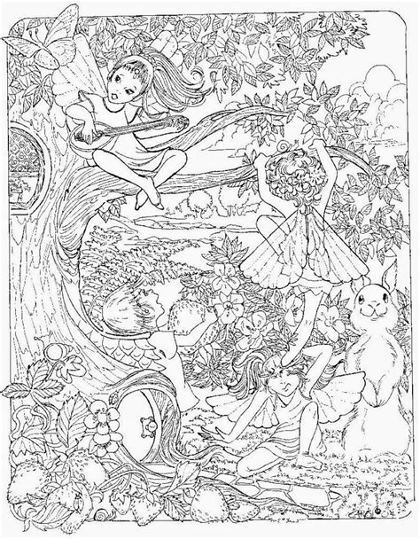 coloring pages for adults fairies abstract detailed hd coloring pages
