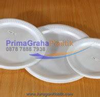Sterofoam Sterofom Styrofom Gabus Foam Mangkok Kecil piring datar styrofoam plate ukuran small medium large home