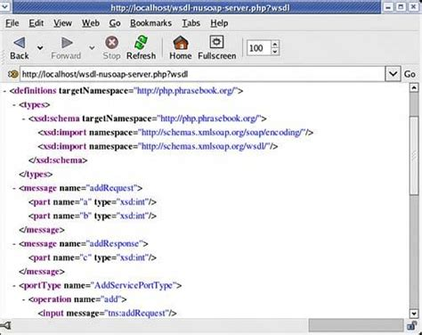 tutorial nusoap php automatically generating wsdl with nusoap php