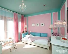Pink And Blue Bedroom Ideas love the pink walls with the blue accents here and there this is a