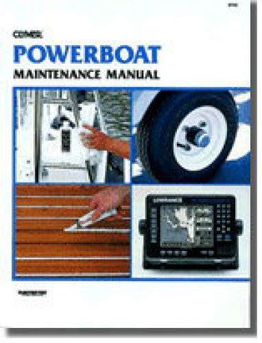 boat repair manuals used powerboat maintenance manual by clymer