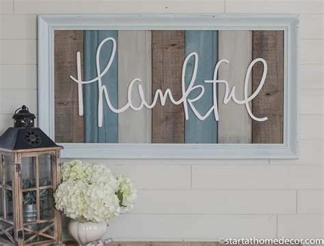 large wooden signs home decor large reclaimed wood signs words start at home decor