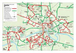 hereford city bus map 1011 hereford city council