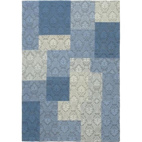 blue dhurrie rug ecarpet gallery collage blue dhurrie 4 ft x 5 ft 10 in area rug 62938 the home depot