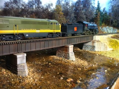 train layout water features model trains for beginners ho scale model train bridges