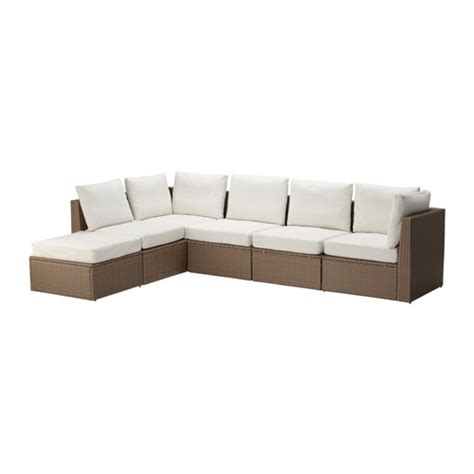 Sofa Di Ikea arholma 5 seat sectional stool outdoor ikea