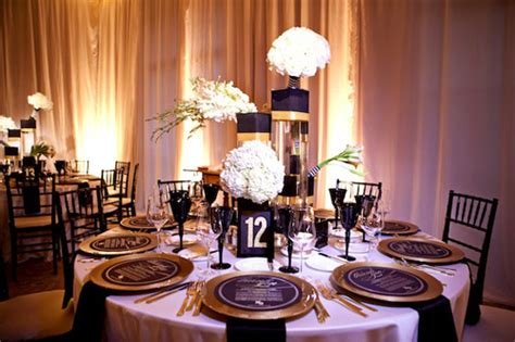 Floor Planning Glamorous Black White And Gold Wedding With Sequin