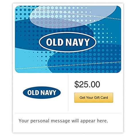 Old Navy Gift Card Paypal - panera bread gift cards e mail delivery good deals today