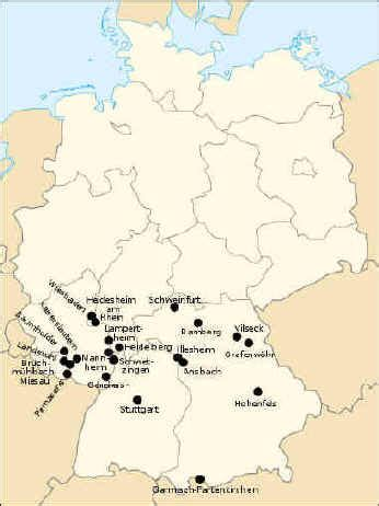 map us bases in germany germany map bases