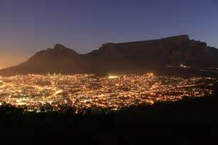 lights cape town cape town city lights by r0xii on deviantart
