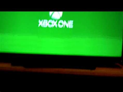 xbox one green screen of death ლ ಠ益ಠლ youtube