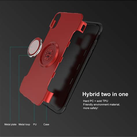 Casing Iphone 6 6 Plus Alex X4530 ring grip stand holder for iphone x 7 8 6 6s 6 plus 6s plus 5 5s se alex nld