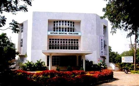 Vips Mba College Visakhapatnam by Gitam Dental College Visakhapatnam Scholarship Details