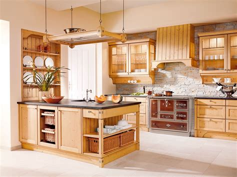 skandinavische küche k 252 che rustikal holz