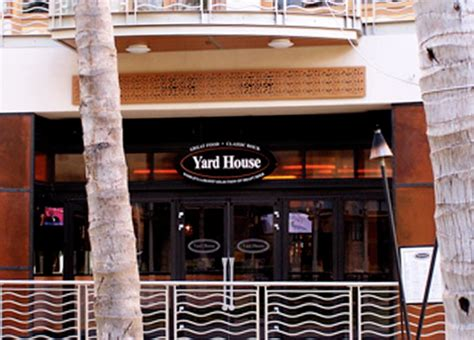 Waikiki Waikiki Beach Walk Locations Yard House Restaurant