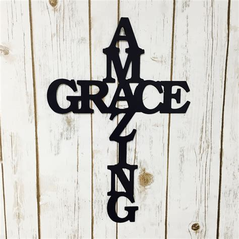 Galvanized Home Decor by Amazing Grace Decor Sign