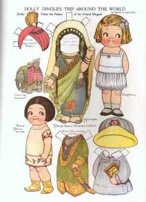 Dolls With Paper - vintage paper dolls and other paper toys