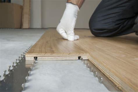pavimento legno flottante parquet la posa flottante o galleggiante