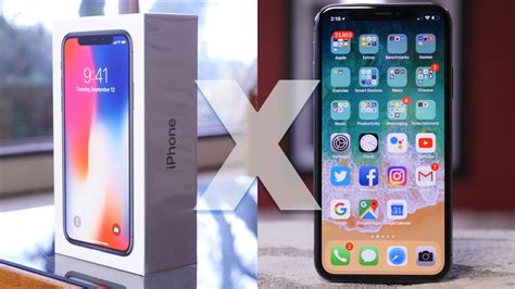 apple iphone x unboxing and impressions phonedog