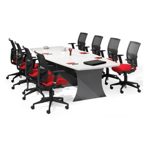 Boat Shaped Meeting Table Origo Boat Shaped Boardroom Meeting Table White Ironstone For Sale Australia Wide Buy